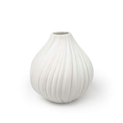 Martin Freyer Small Plissee Pleated Rosenthal Vase Russell