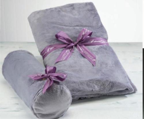 Sonoma Lavender Neck Roll Plush Plata Mia S Cozy Cove