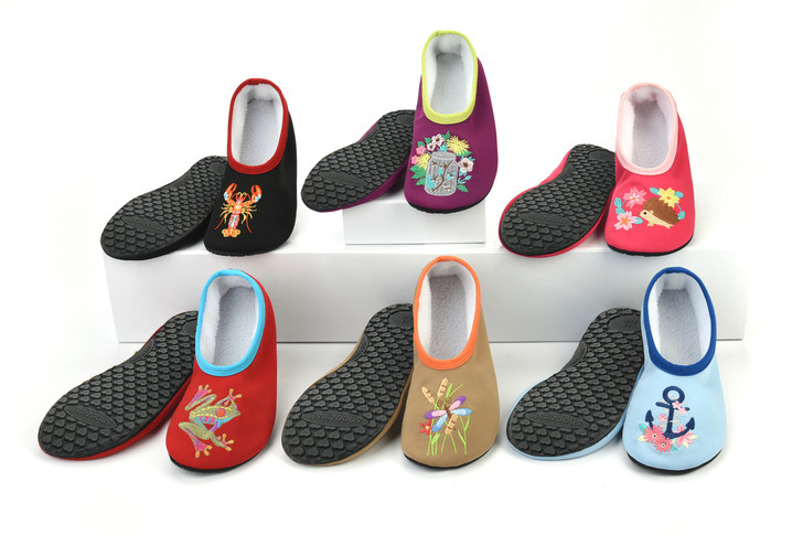 Solefully Comfortable® Hard Sole Snoozies!® Slippers