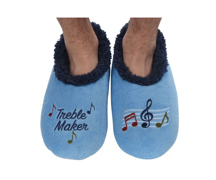 """""""Treble Maker"""" Men's Snoozies® Pairables Slippers"""