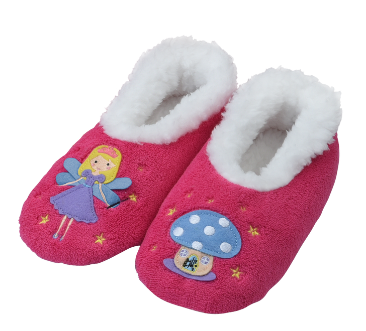 Toddler Fairytales Snoozies!® Slippers- Fairy, Pink