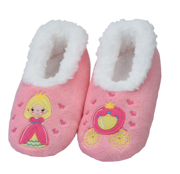 Toddler Fairytales Snoozies!® Slippers- Princess , Light Pink