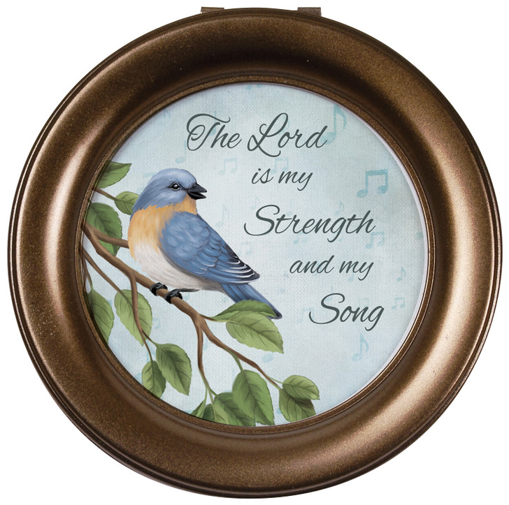 """Round Music Box - """"The Lord is my Strength and my Song"""""""