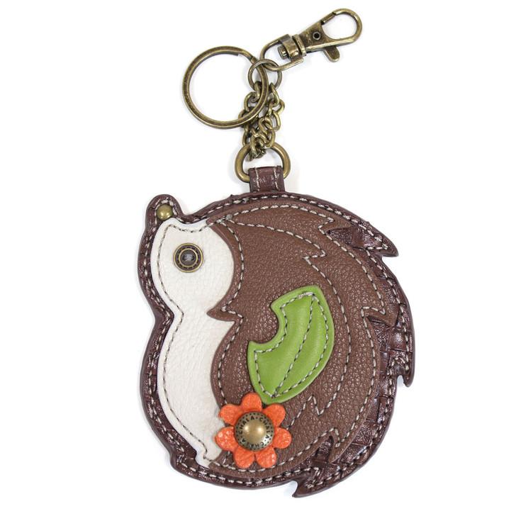 Chala Coin Purse Key Fob - Hedgehog