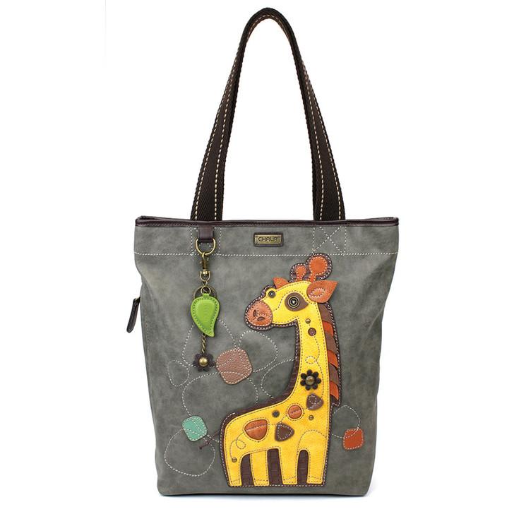 Chala Everyday Zip Tote - Giraffe