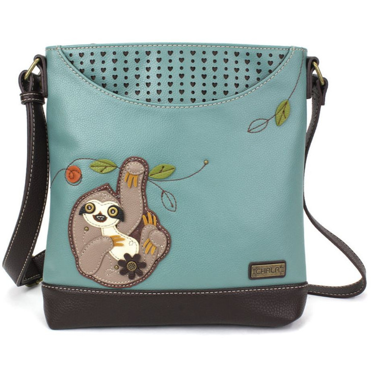 Chala® Sweet Messenger Handbag -Sloth
