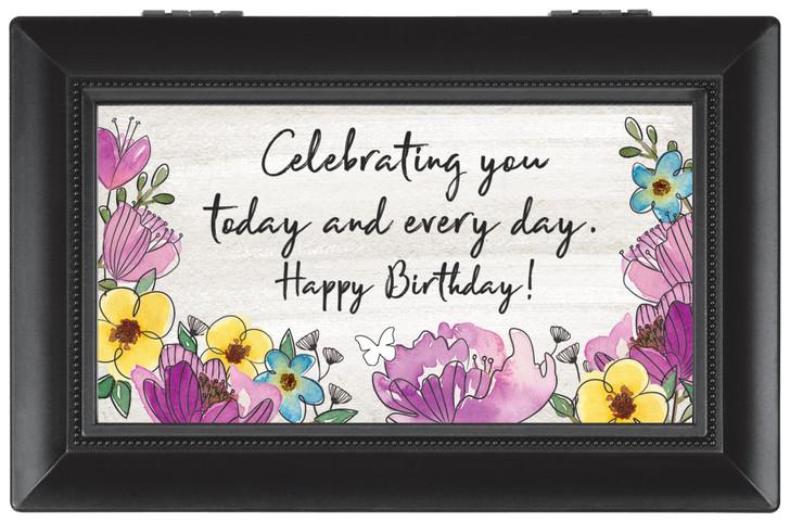 "Small Music Box - ""Happy Birthday"""