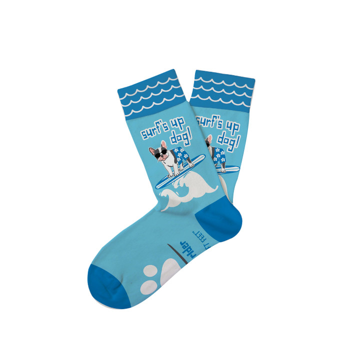 "Kid's ""Surf's Up Dog"" Everyday Socks"