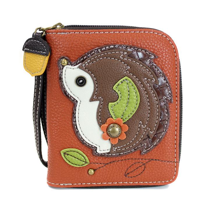 Chala Zip Around Wallet -Hedgehog