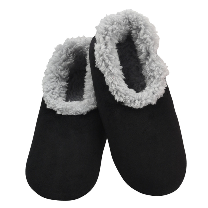 Women's Super Soft Plush Snoozies!® Slippers - Black