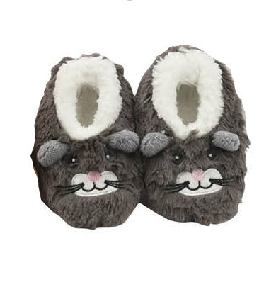 COZY SOFT FLEECE SLIPPERS //SHOES BABY SNOOZIES ELEPHANT DESIGN 0-3 MONTHS