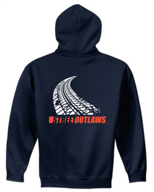 Tire Track Hooded Sweatshirt