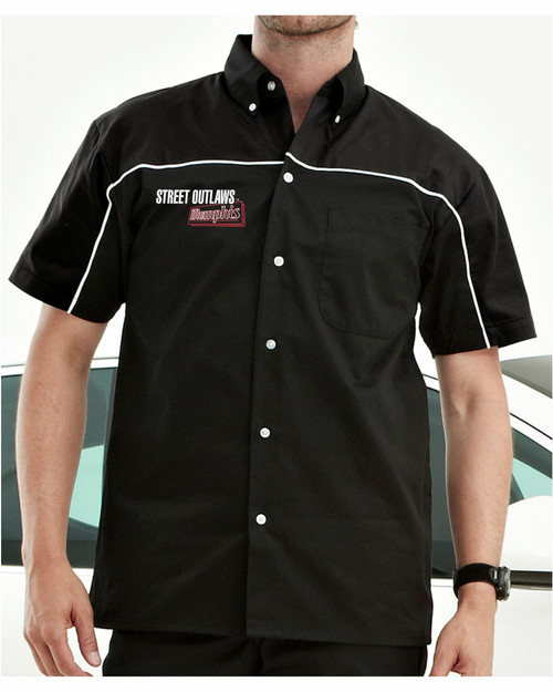 Street Outlaws Memphis Button Down Shirt