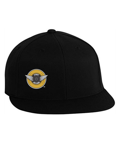 Street Outlaws Wings Flexfit Fitted Cap
