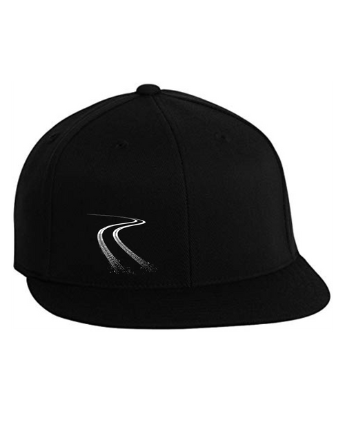 Burning Rubber Flexfit Fitted Cap