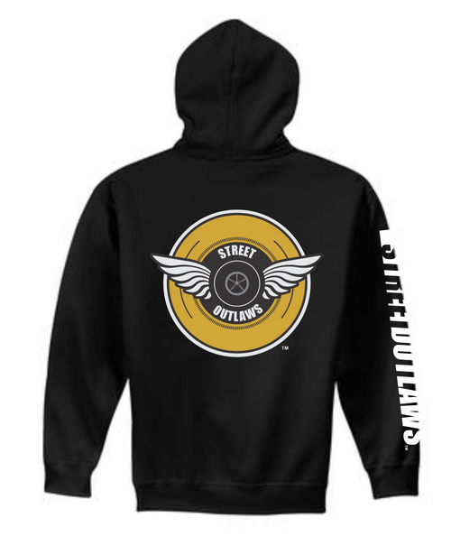 Street Outlaws Wings Hooded Sweatshirt