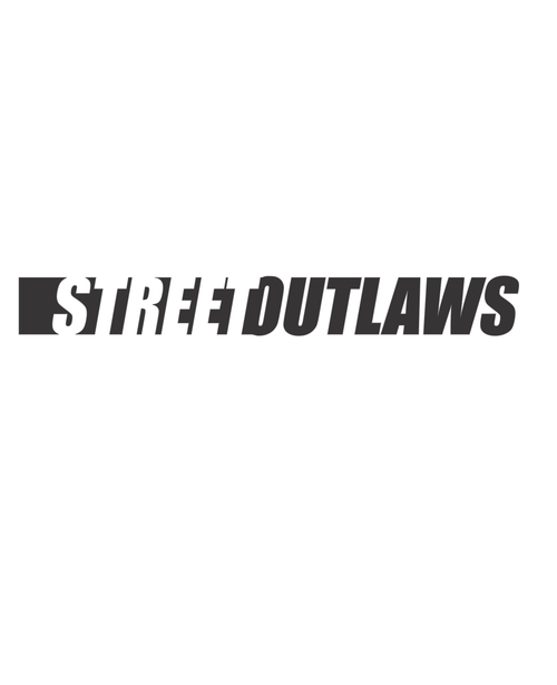 Street Outlaws Logo Decal