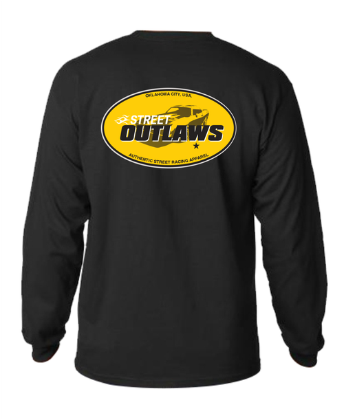 Street Outlaws OKC Long Sleeve Tees