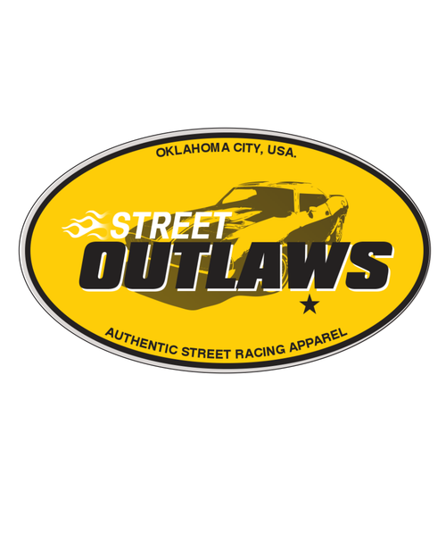 Street Outlaws OKC Decal