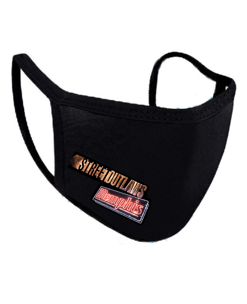 Street Outlaws Memphis Face Mask