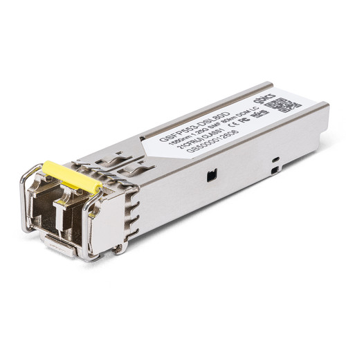 E1MG-LHA-OM - Brocade/Ruckus Compatible - 1000BASE-ZX SFP 1550nm 80km DOM Transceiver Module
