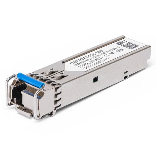 E1MG-BXU - Brocade/Ruckus Compatible - 1000BASE-BX-U BiDi SFP 1310nm-1490nm 10km DOM Transceiver Module