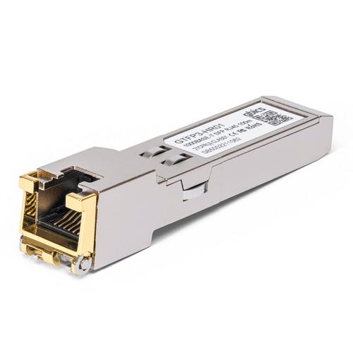 J8177D - HP Aruba Compatible - 1000BASE-T SFP Copper RJ-45 100m Transceiver Module