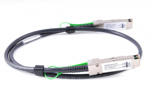40G-QSFP-QSFP-C-0501 - Brocade/Ruckus Compatible - 5m 40G QSFP+ Passive Direct Attach Copper Cable