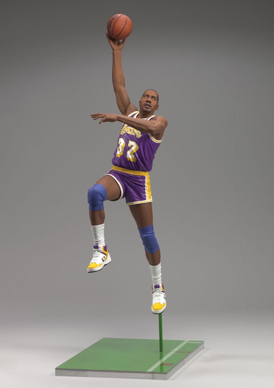Magic Johnson 2 Los Angeles Lakers 1979-1996 NBA Legends 5 Figure