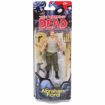 ABRAHAM FORD The Walking Dead Comic Action Figure