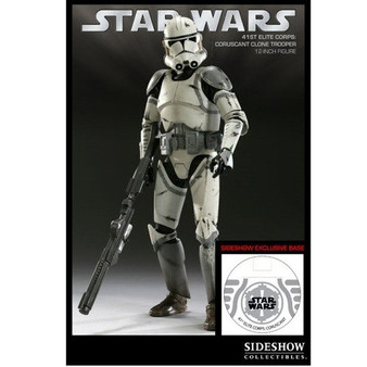 """Sideshow """"Coruscant Clone Trooper"""" 41st Elite Excl. 1:6 Figure"""