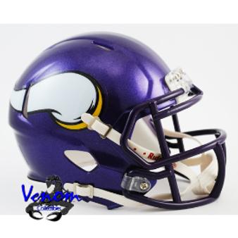 Minnesota Vikings Riddell NFL Mini Revo Speed Helmet