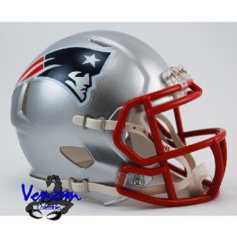 New England Patriots Riddell NFL Mini Revo Speed Helmet