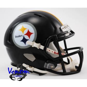 Pittsburgh Steelers Riddell NFL Mini Revo Speed Helmet