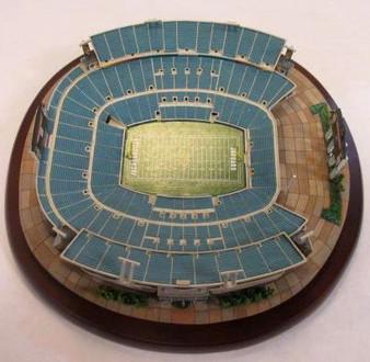 Jacksonville Jaguars Danbury Mint Alltel Stadium