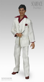 """Sideshow """"Scarface"""" Foul-Mouthed Exclusive 12"""" Talking Figure"""