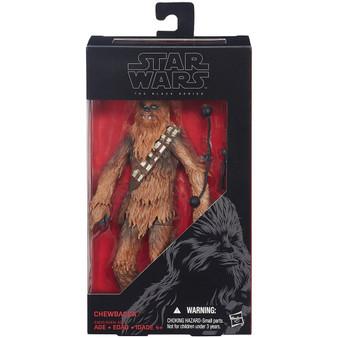 "Star Wars Chewbacca Force Awakens The Black Series 6"" Figure"