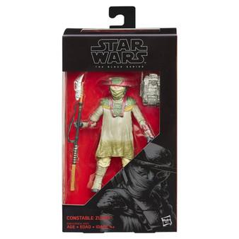 "Star Wars Constable Zuvio The Black Series 6"" Action Figure"