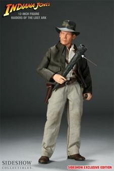 """Sideshow """"Indiana Jones"""" ROTLA Exclusive 12 Inch Figure + Bonus"""