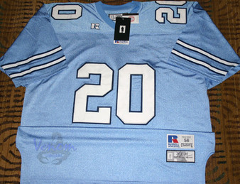 Russell Athletic AUTH #20 N. Means UNC Tar Heels Blue Jersey