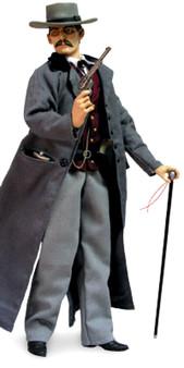 "Sideshow ""Doc Holliday"" Six Gun Legends 12"" Collectible Figure"