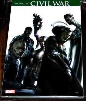 "Marvel Comics ""The Road To Civil War"" Paperback Graphic Novel"