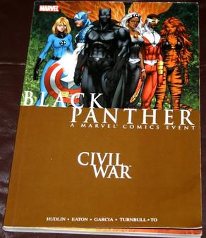 "Marvel Comics ""Black Panther-Civil War"" Paperback Graphic Novel"
