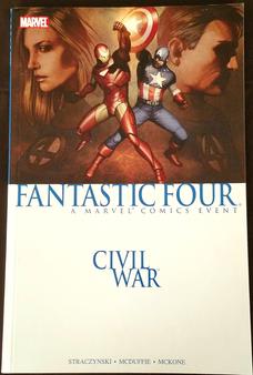 "Marvel Comics ""Fantastic Four-Civil War"" Paperback Graphic Novel"