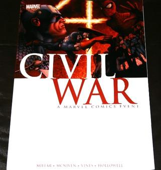 "Marvel Comics ""Civil War"" Paperback Graphic Novel"
