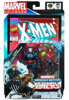 Marvel U Gambit & Mister Sinister Greatest Battles Figure 2-Pack