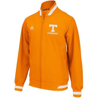 ADIDAS Tennessee Volunteers Orange Sideline Transition Jacket