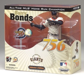 "Barry Bonds San Francisco Giants ""756th Home Run"" MLB Figure"