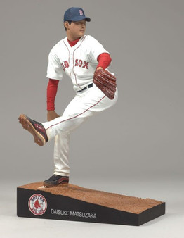 Daisuke Matsuzaka Red Sox White Jersey Variant MLB S-21 Figure