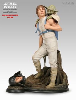 "Sideshow ""Luke & Yoda"" PF Exclusive Dagobah Training Figure Set"
